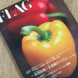 ガスの情報誌『FLAG』創刊号が出ましたよ。